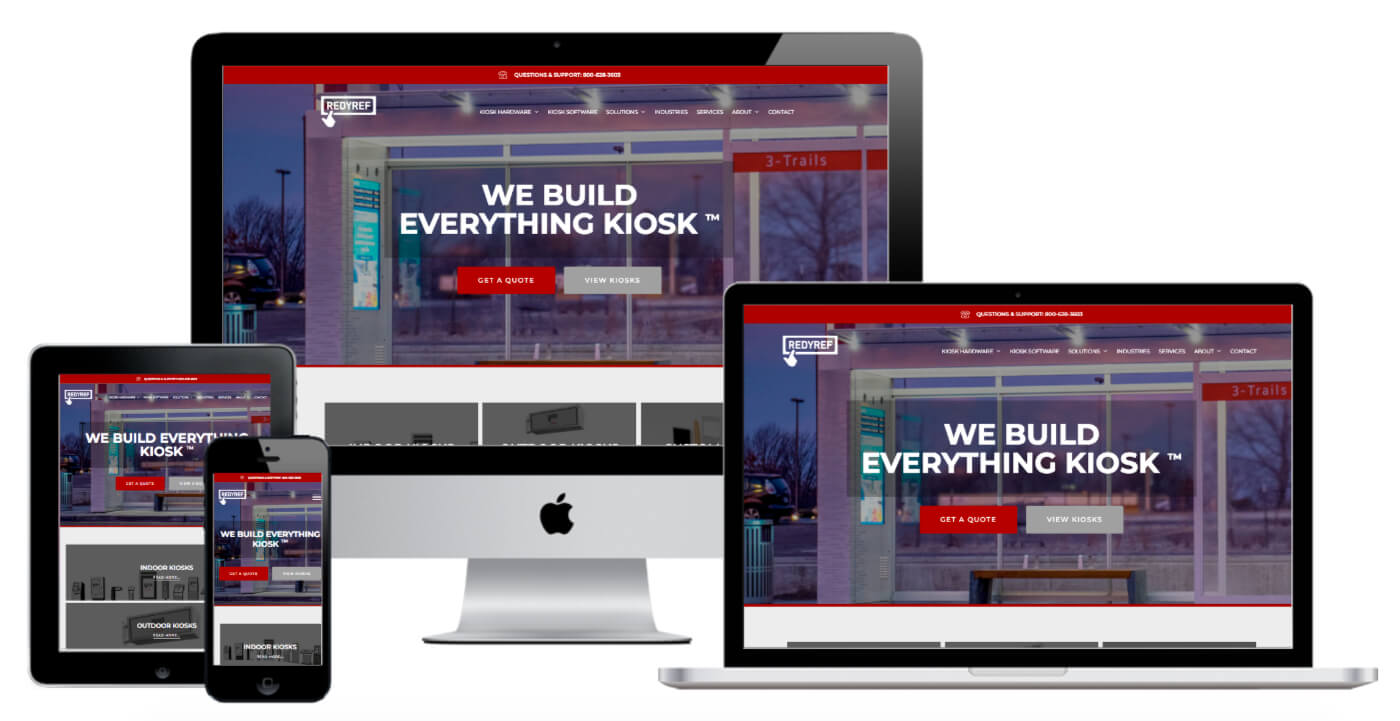 Kiosk Sales Web Design - NJ - Nathan