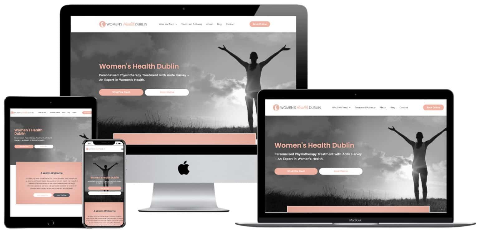 Womens Health Dublin Design Elementor